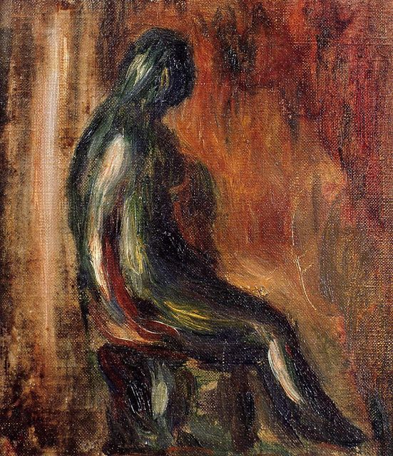 Pierre Auguste Renoir (1841-1919) - Study of a Statuette by Maillol -  1907c - Private Collection