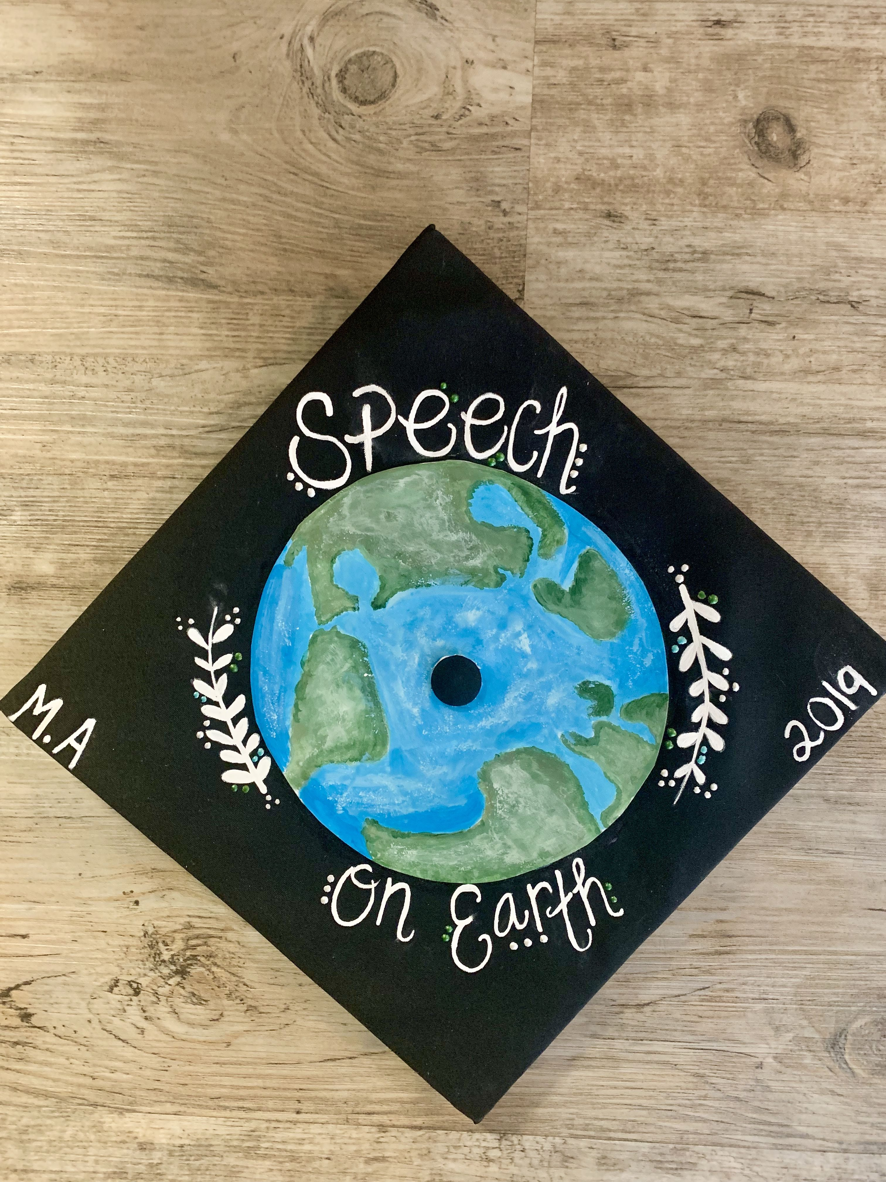 Graduation cap speech therapy graduation cap speech