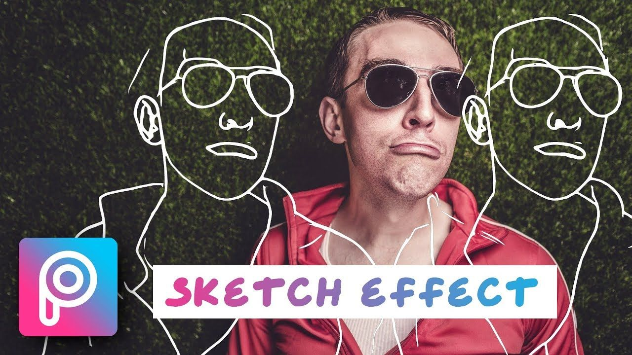 New quick and easy outline drawing with sketch effect in