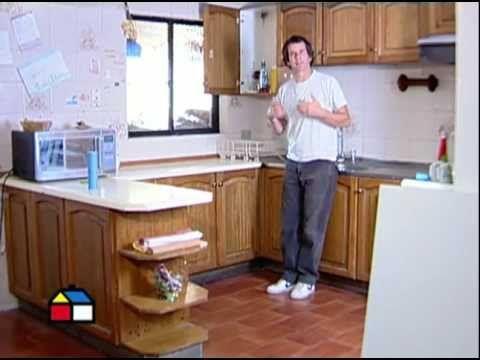 Cómo mantener la cocina y construir una mesa abatible? | DIY muebles ...