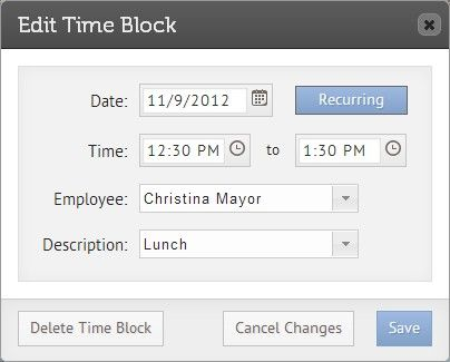 keep track of employee hours