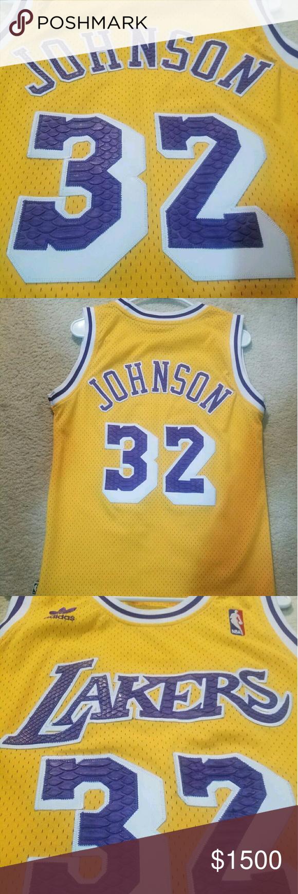e12f1f289 Lakers jersey custom Custom Laker jersey snake skin made adidas Shirts Tank  Tops