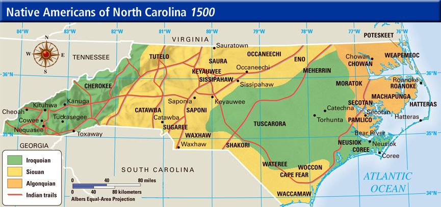 Early Peoples Of North Carolina - Lessons - Tes Teach ...