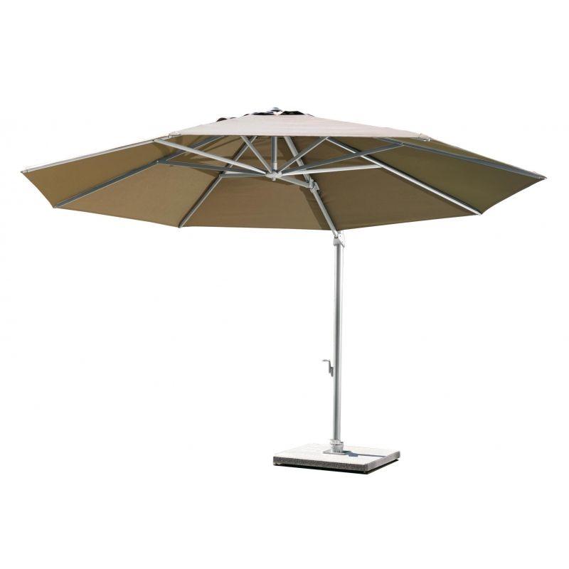 Freiarm Sonnenschirm Von Weishaupl Rund 350 Cm Sonnenschirm