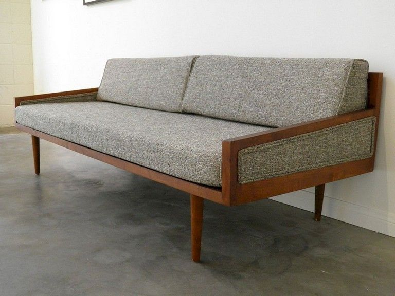 40 Awesome Mid Century Furniture Ideas Page 39 Of 39 Mid Century Modern Daybed Mid Century Modern Sofa Mid Century Furniture
