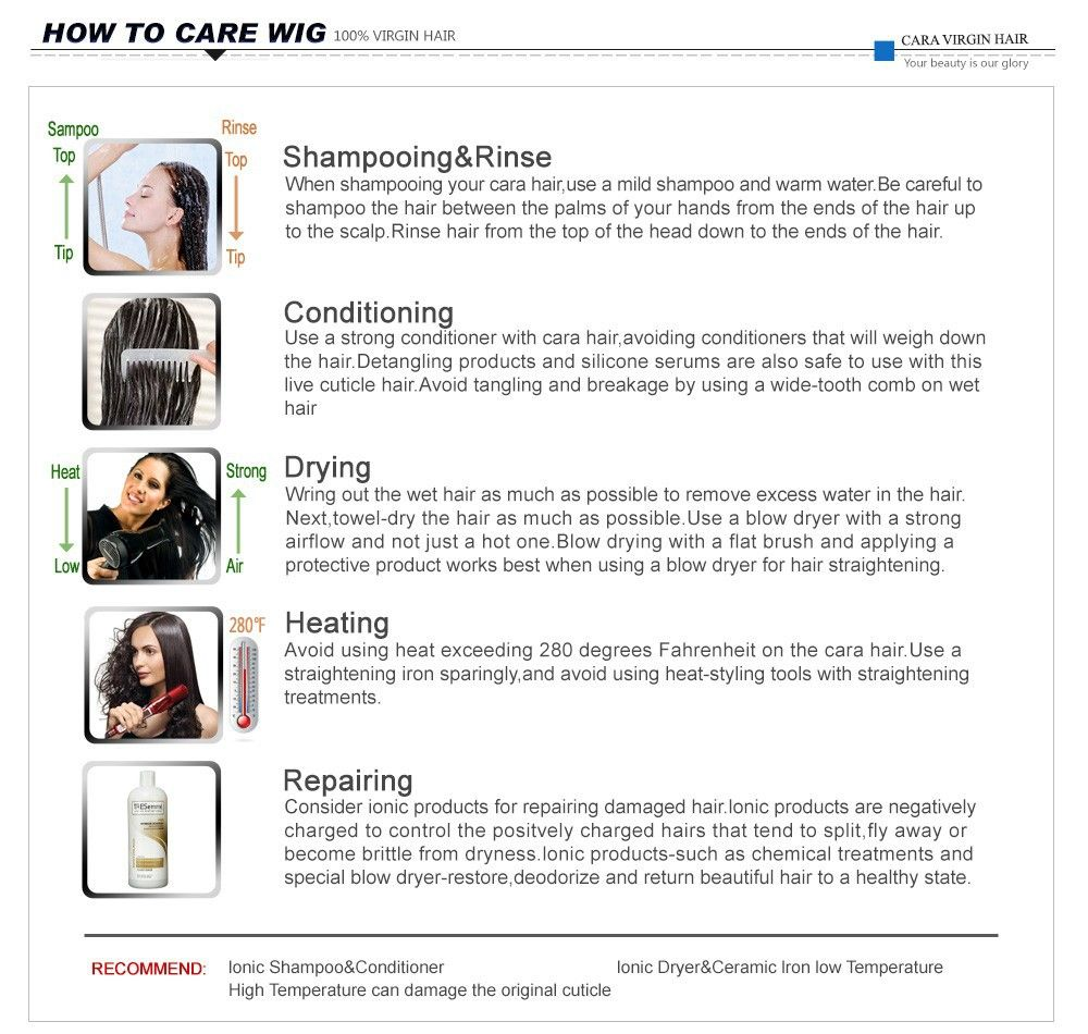 How to care for your wig carering for your hair pinterest body