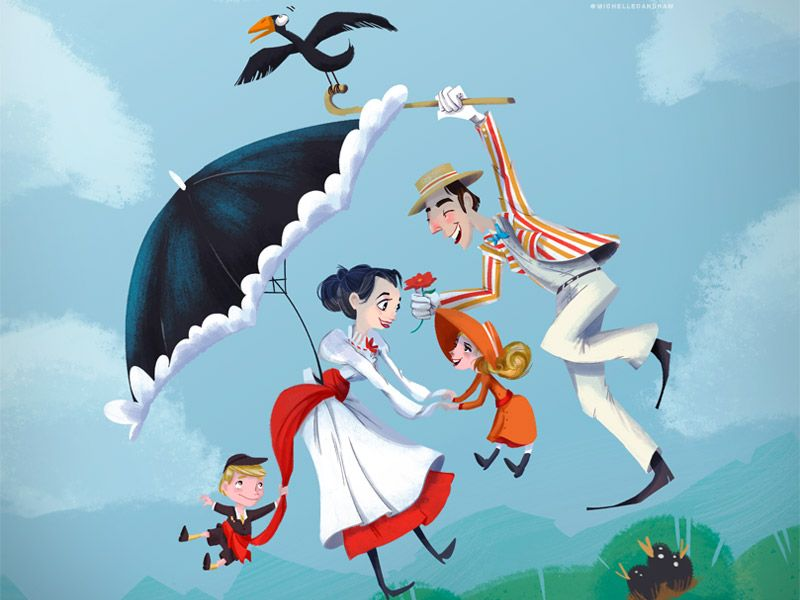 Mary Poppins! by Michelle Ouellette