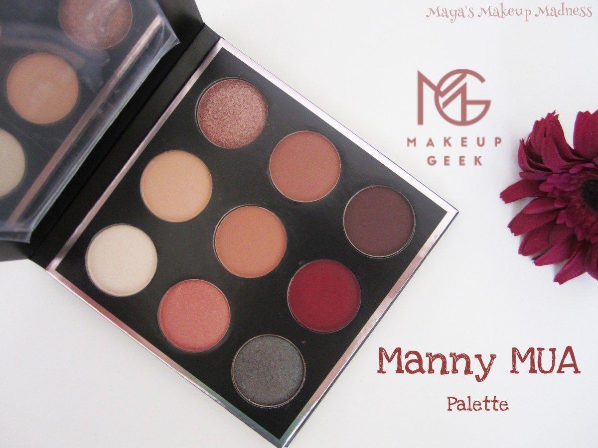 Geek Time! Makeup Geek x Manny MUA Palette Review