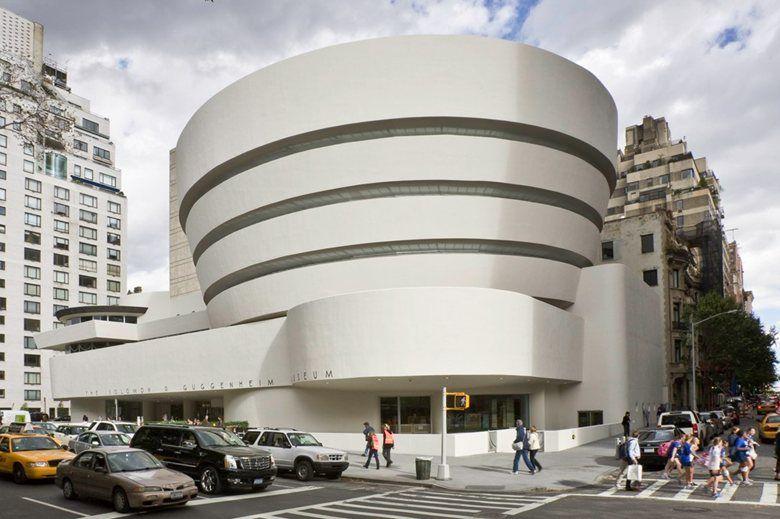Solomon R Guggenheim Museum New York 1943 Frank Lloyd Wright New York Museums Museums In Nyc Nyc Art Museums