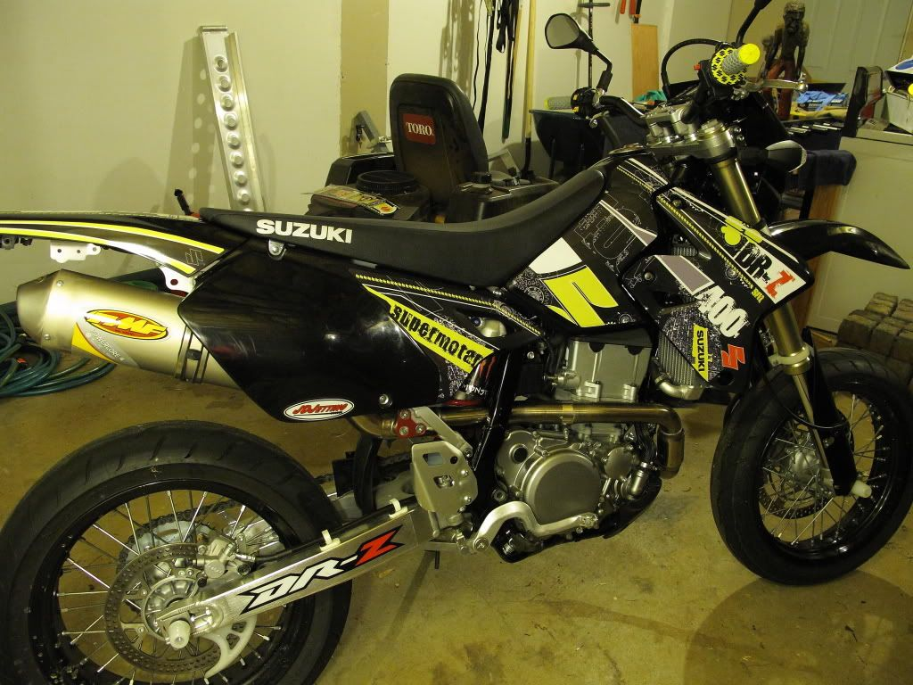 drz400 graphics | drz400 decal kits please post your pictures - DR-Z