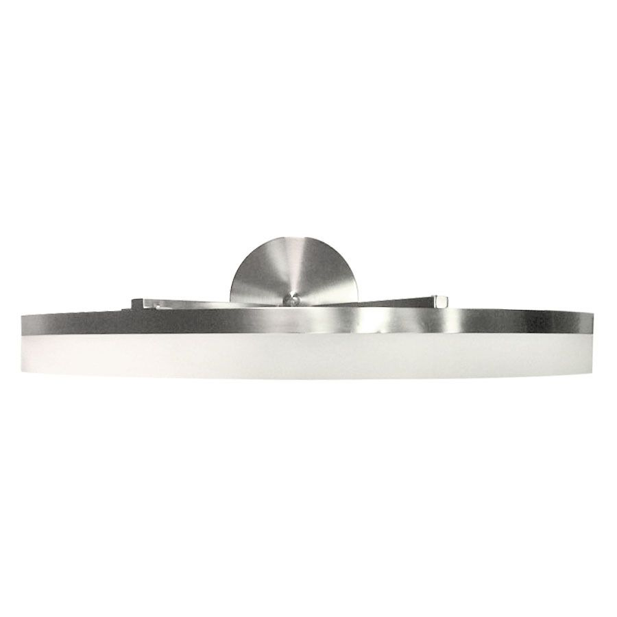 Style Selections Lynnpark 1 Light 5 64 in Brushed Nickel Integrated LED Vanity  Light Bar. Style Selections Lynnpark 1 Light 5 64 in Brushed Nickel