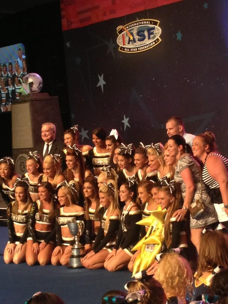 The World Cup Suns Are The 2013 Winners Of The Nfinity Cup Cheer Picture Poses Cheerleading Award Cheer Pictures