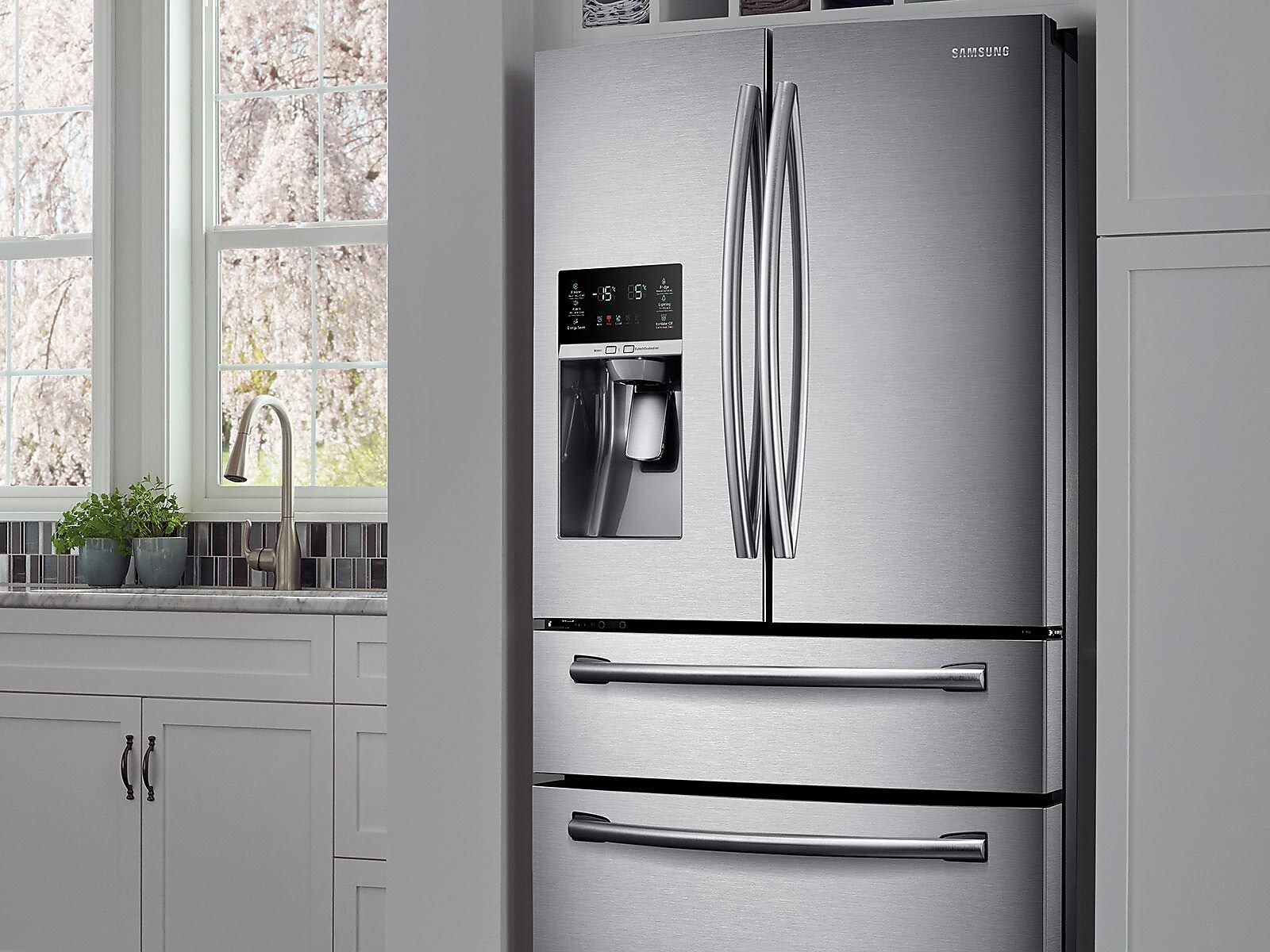 Samsung 30 Cu Ft 4 Door French Door Refrigerator Silver