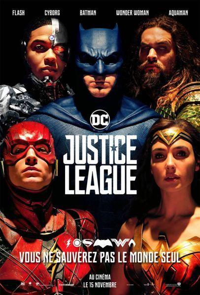 Justice League Critique Ligue De Justice Poster Superman Justice League