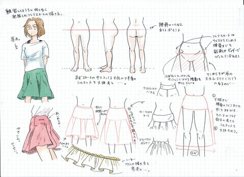 How To Draw 10 Ways To Draw Skirts Pixiv Spotlight How To Draw Skirt Anime Skirts Flare Skirt