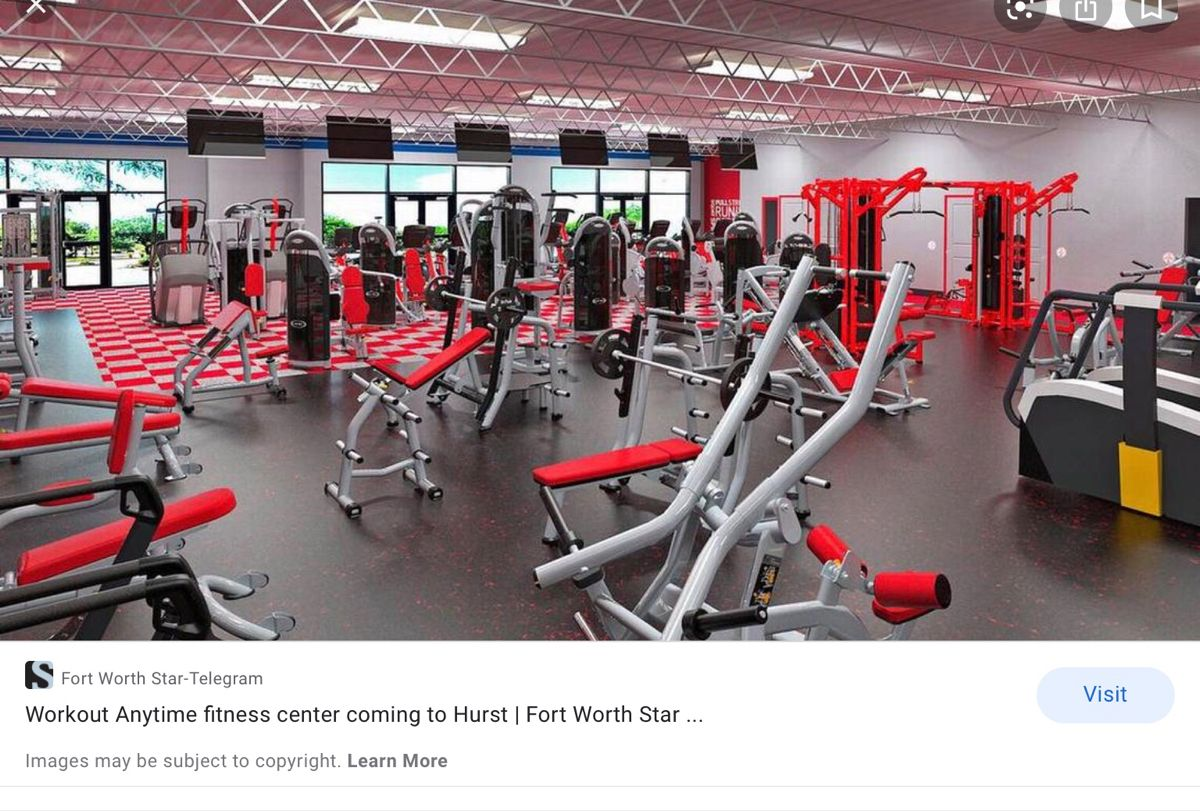 Hurst, Texas Opening Soon!! in 2020 Anytime fitness, Gym