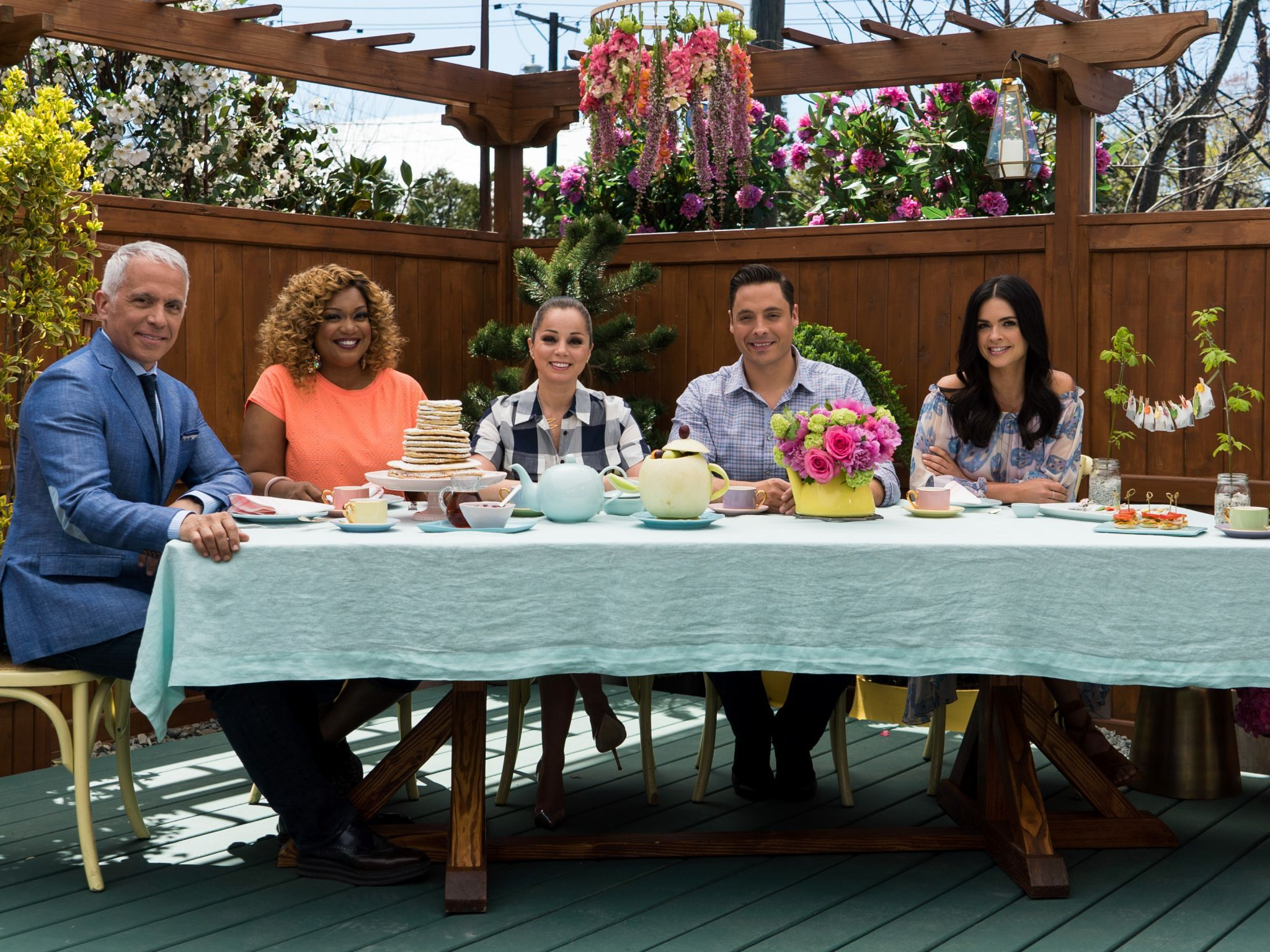 Piece of Cake Party: Tea Time : Food Network - FoodNetwork.com | Tea ...