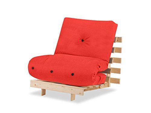 Best Humza Amani Wood Luxury 1 Seater Metro Futon Sofa Bed 400 x 300