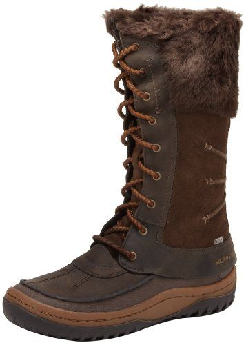 waterproof boots, Winter leather boots