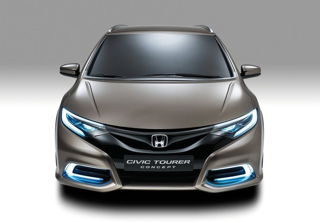 Honda Introduced The Concept Of A Completely New Model   Honda Accord  Tourer. With The Latest Model Presented At The Geneva Motor Show Honda  Wants U2026