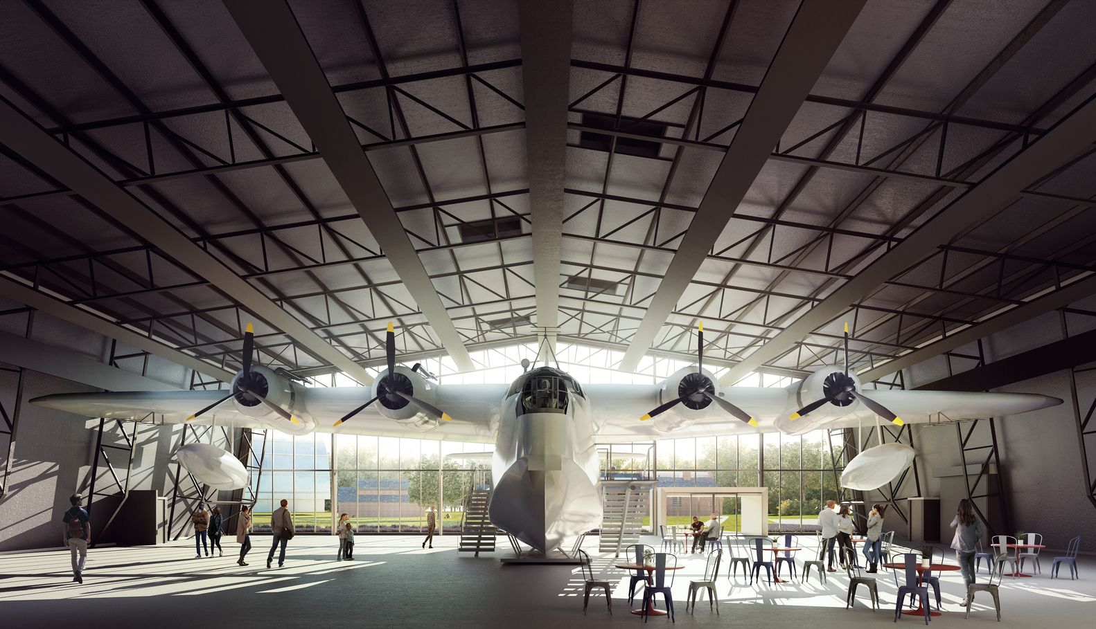 Gallery of Nex Architecture Unveils Design for New Royal Air Force Museum in London - 13