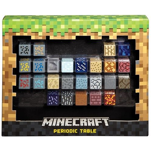 Keep building your world with the minecraft periodic table these 1 keep building your world with the minecraft periodic table these 1 inch blocks are urtaz Images