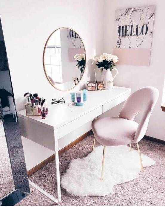 28+ DIY Simple Makeup Room Ideas, Organizer, Storage and Decorating -   10 girly room decor ideas