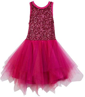 486d7a177 Zoe Marly Sequin & Tulle Party Dress, Size 4-6X | Little Princess ...