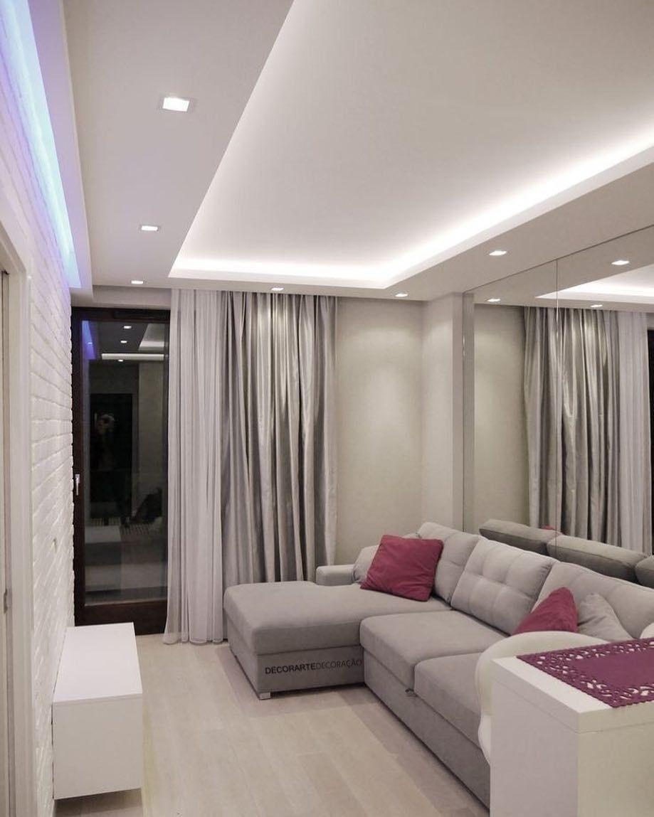 Decoration Salon Faux Plafond 16 in 16  Ceiling design living