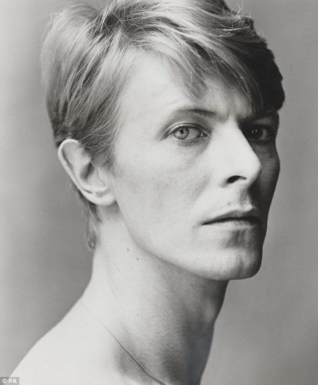 Young David Bowie Eyes