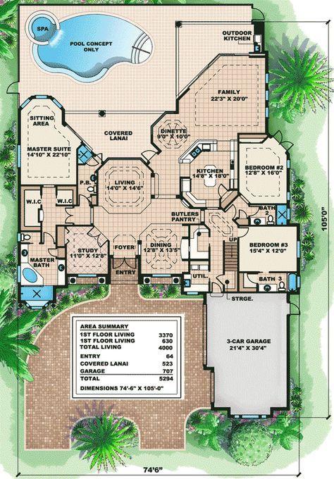 plan 66011we cozy and elegant luxury house plan in 2020