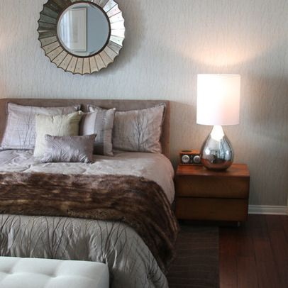 Decorative Mirror Above Bed Design Ideas Pictures