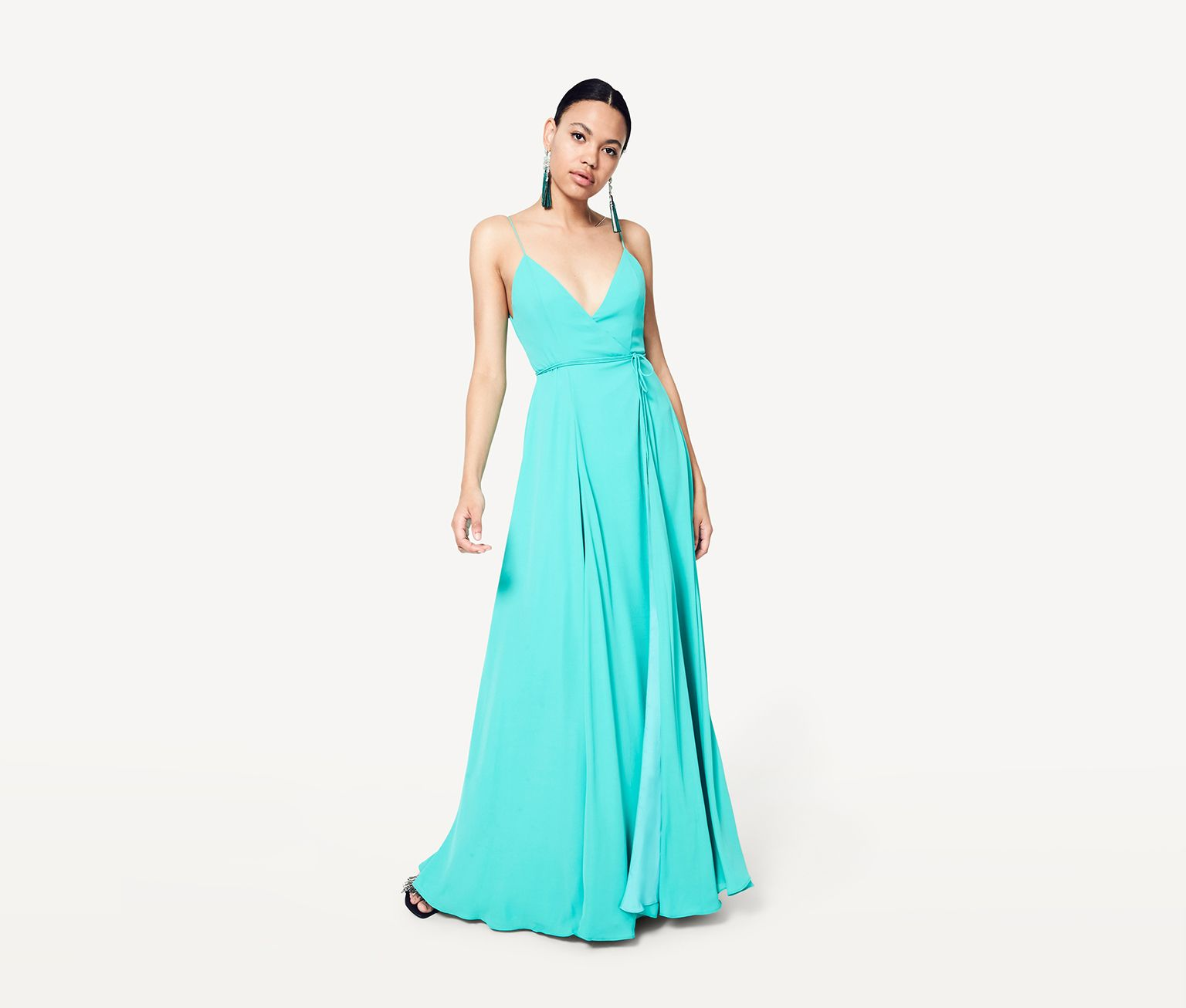 Formal dresses for summer wedding  The Mimi  bes blanches  Pinterest  Wrap dresses and Clothes