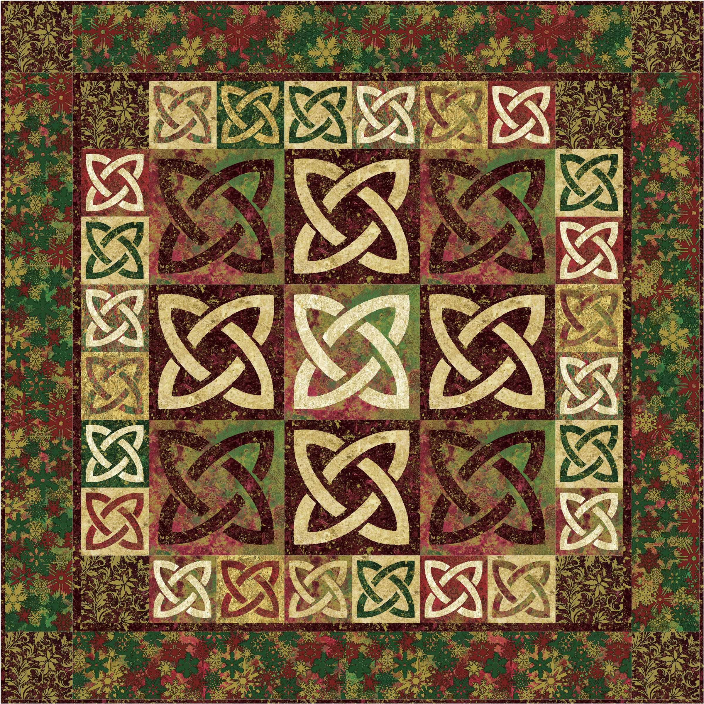 Celtic Ballad quilt by Susan Purney Mark: Give-and-Take Applique ... : quilting technique - Adamdwight.com