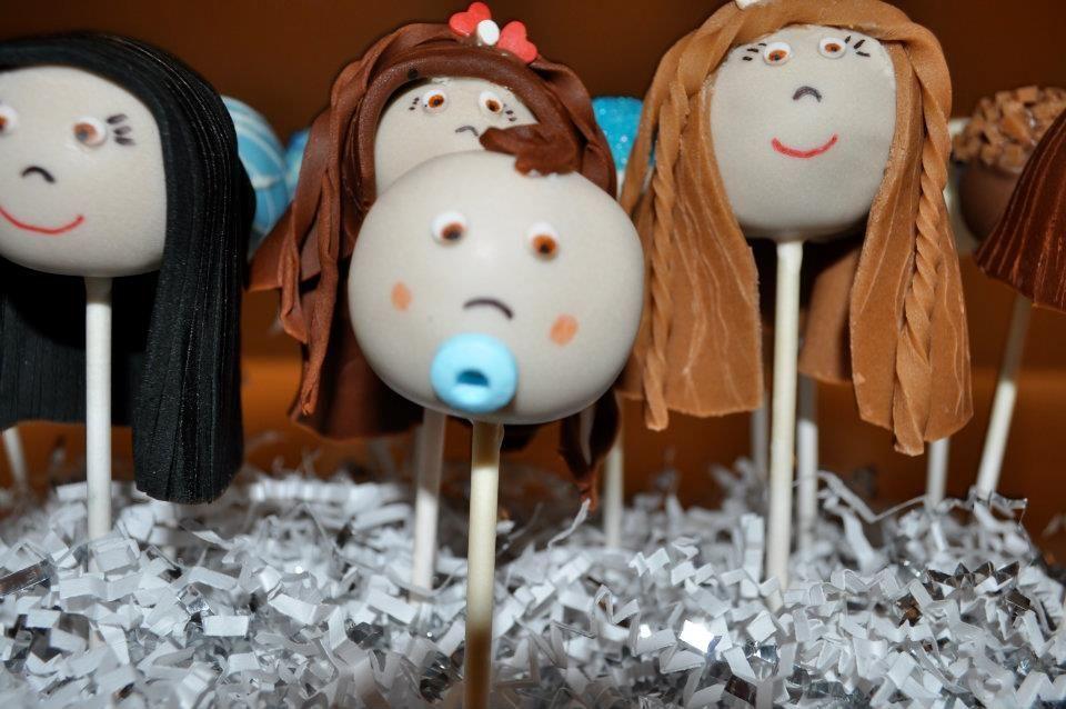 Baby Boy Cake Pop by Too Sweet Sisters