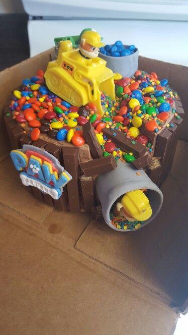 Paw Patrol Kit Kat Cake My Cupjaykes Amp Cakes Pinterest