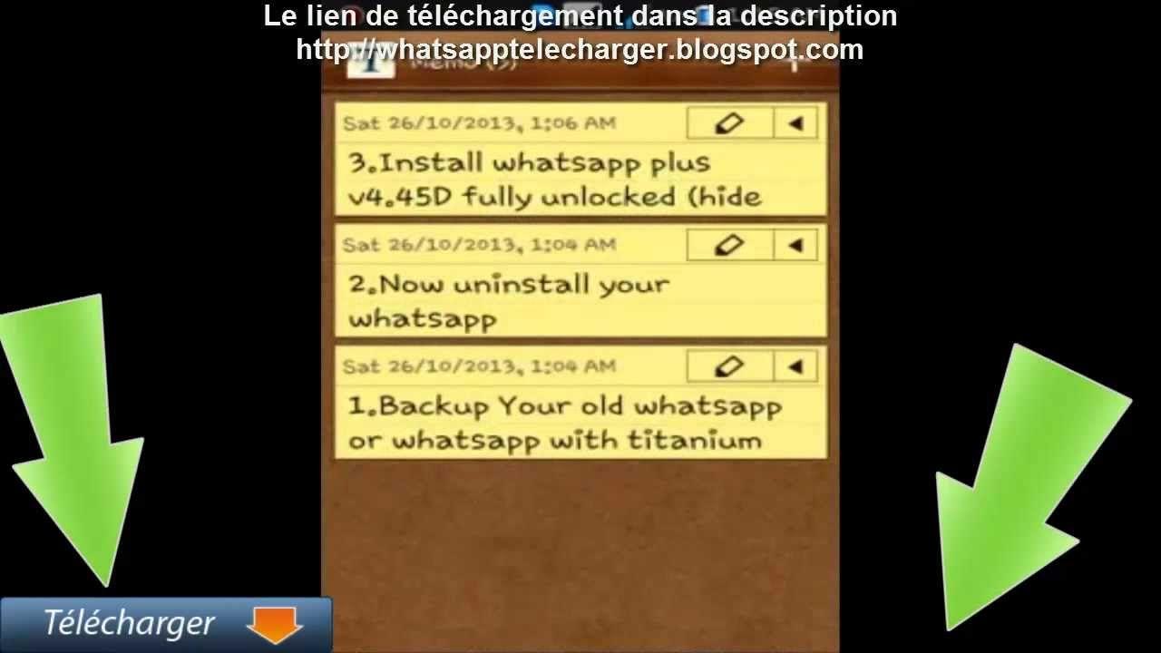 Whatsapp Télécharger Android Apk Débloqué v4.70D GratuiT