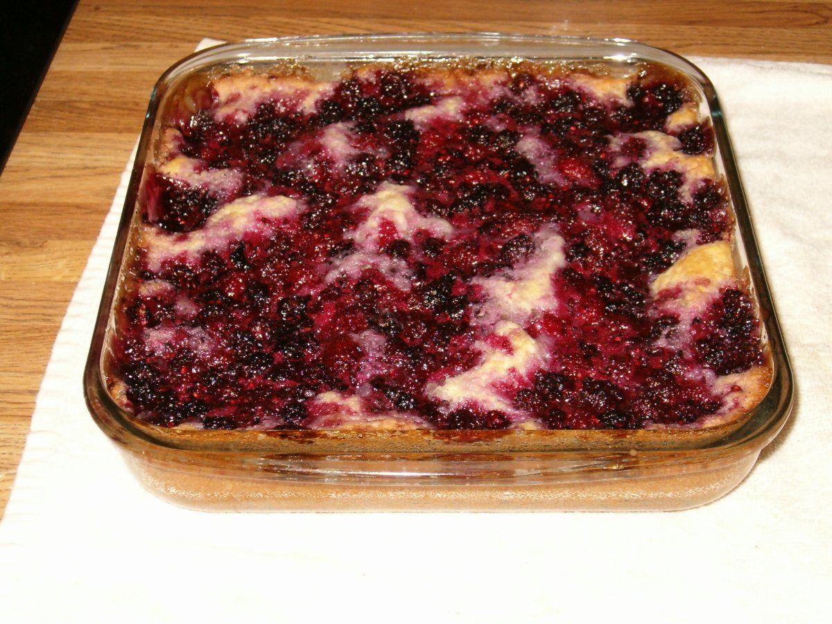 Blackberry cobbler recipe sweet dumplings blackberry