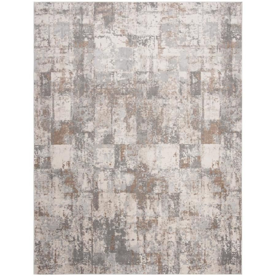 Safavieh Invista Lore Cream Beige Indoor Industrial Area Rug Common 8 X 10 Actual 8 Ft W X 10 Ft L Inv435a 8 In 2020 Industrial Area Rugs Rugs Area Rugs