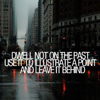 They Need to GET OVER IT! Your Past is just that….It HAS PASSED!