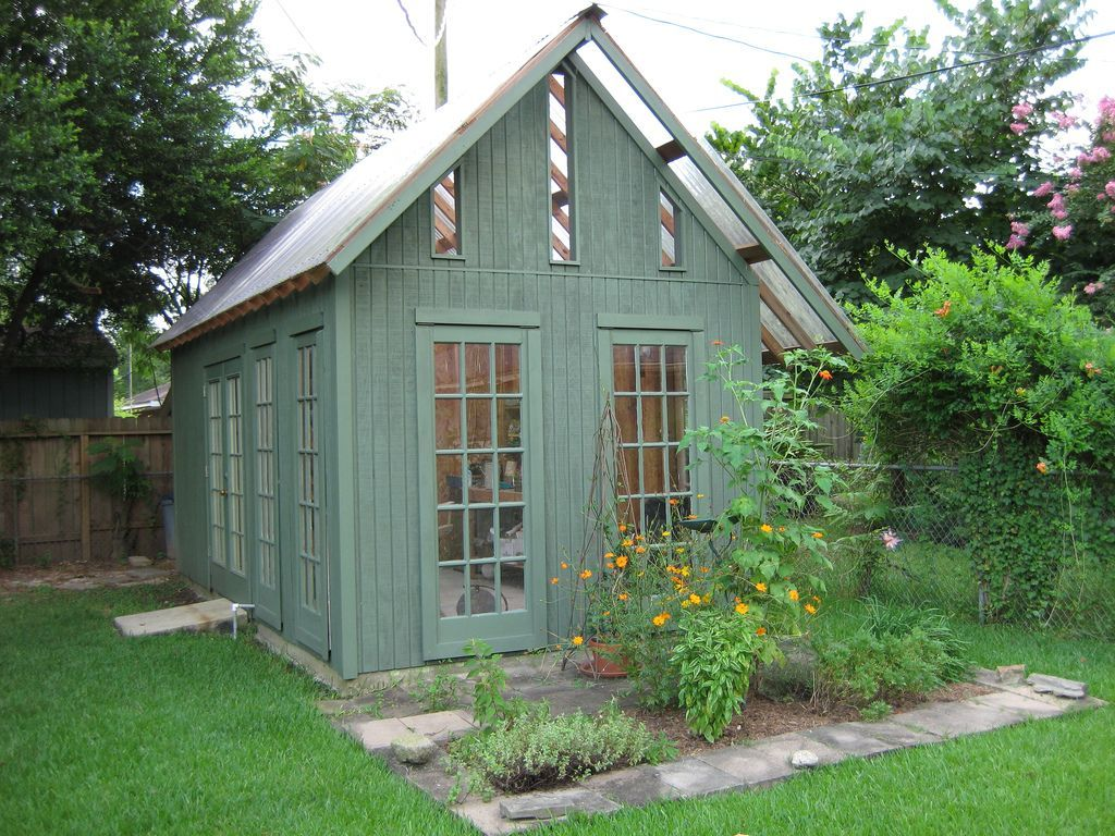 Outdoor get inspiring ideas through these beautiful for Garden shed pictures