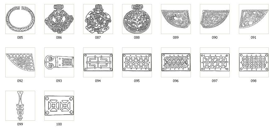 Authentic Viking Designs Motifs And Images Viking Pinterest