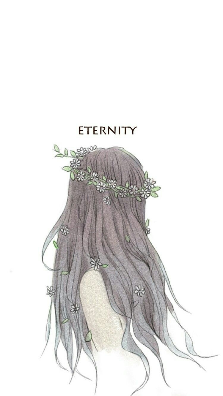 Sketsa Menggambar Rambut Ilustrasi Kecantikan Ilustrasi