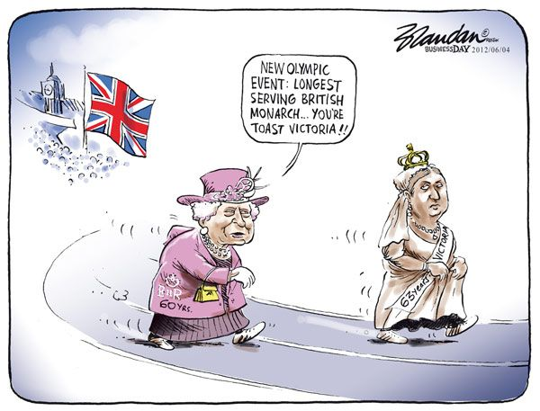Funny Cartoon England Funny Funny Cartoon British Royals Queen elizabeth ii arrives at westminster abbey wearing her coronation robes and sovereign crown, 1953. funny cartoon england funny