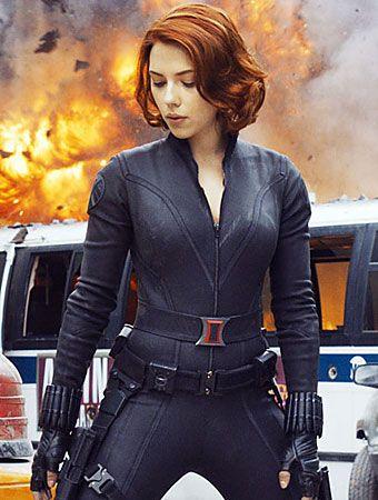 Admirable Scarlett Johansson On Her Avengers Wardrobe Scarlett Ohara Hairstyles For Men Maxibearus
