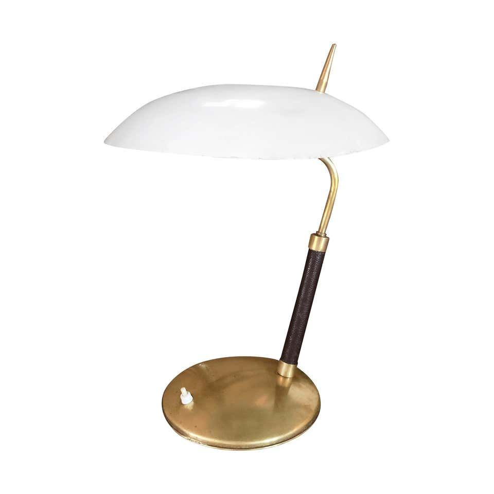 20th Century Italian Table Lamp By Stilnovo In 2020 Modern Glass Table Lamps Table Lamp Vintage Table Lamp