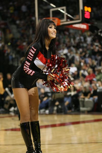 Blazer Dancers, Portland Trail Blazers (Icon Sports Media)