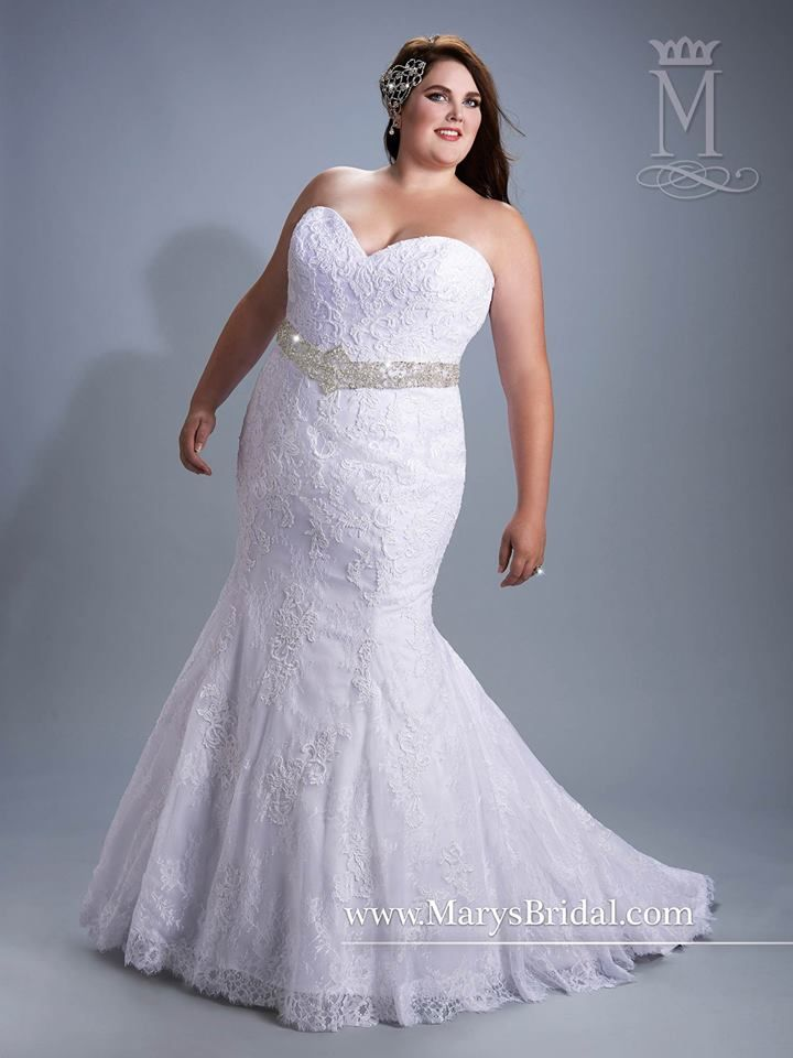64 Super Gorgeous Plus Size Wedding Dresses To Flatter You Best On