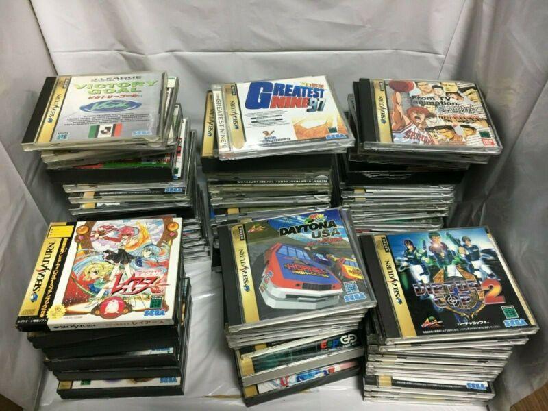 Wholesale Sega Saturn 100 CD-ROMs with Case #retrogaming