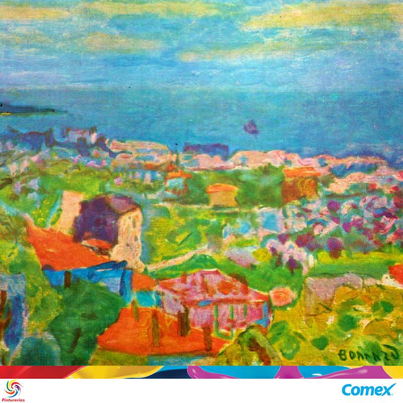 """""""El arte de la pintura consiste en aclarar y oscurecer los tonos sin decorarlos"""". Pierre Bonnard #MiInspiracionComex"""